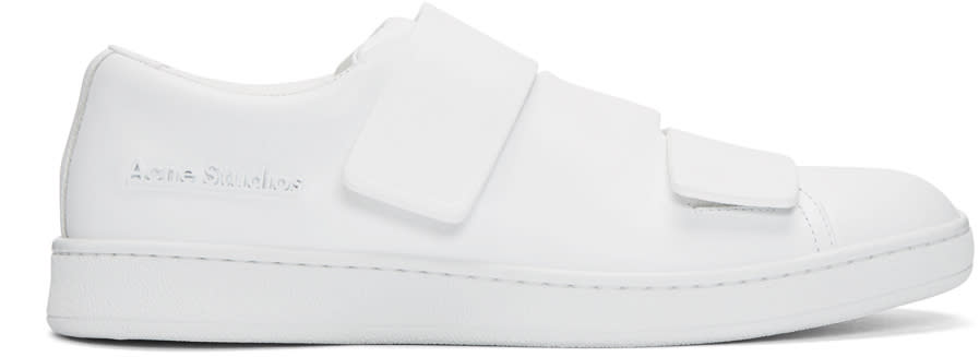 Acne Studios White Triple Sneakers