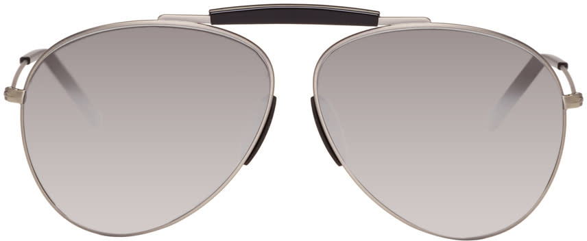 Acne Studios Black Howard Aviator Sunglasses