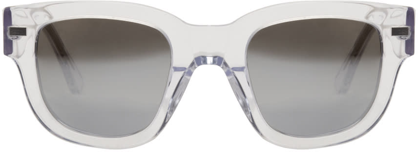 Acne Studios Transparent Frame Metal Sunglasses