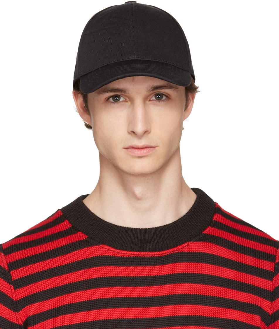 Acne Studios Black Camp Salt Cap