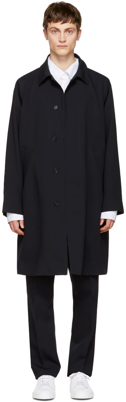 Acne Studios Navy March Coat