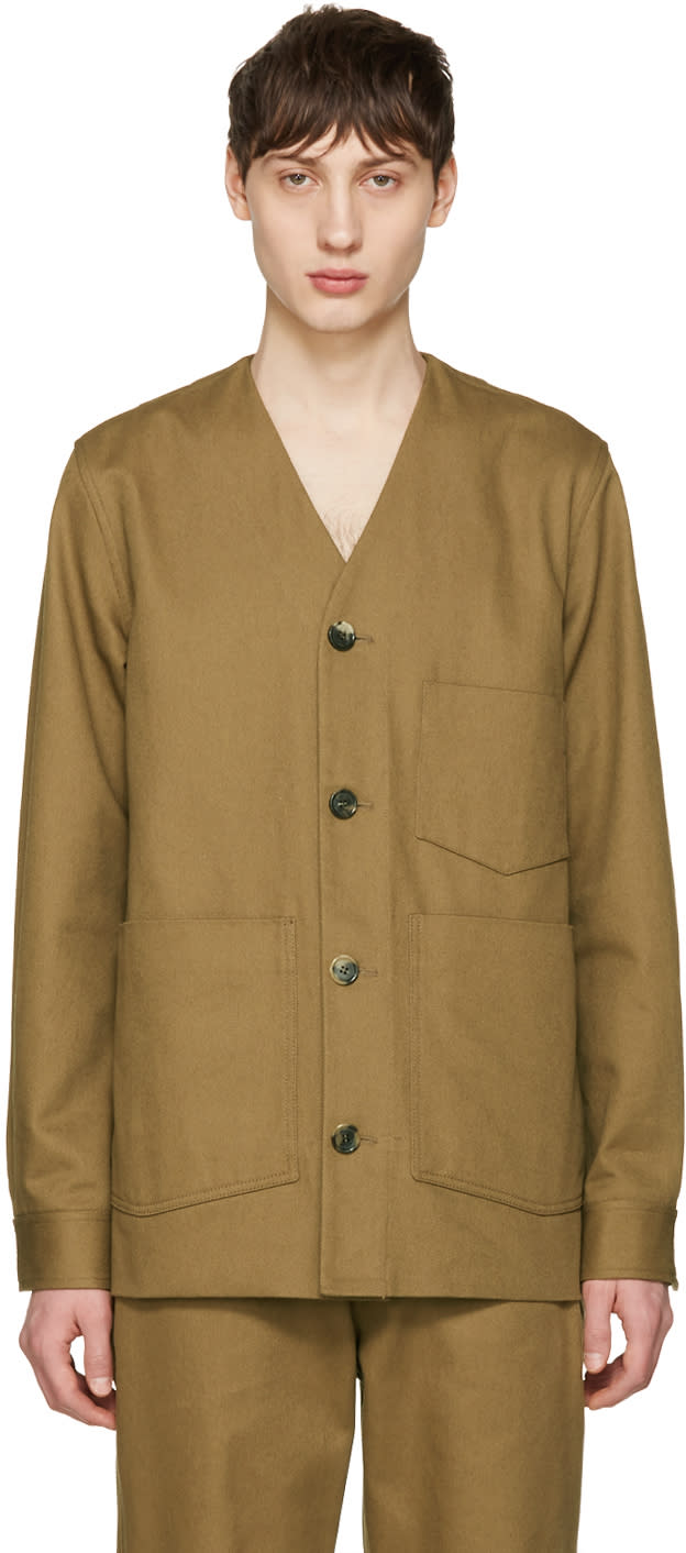Acne Studios Beige Method Jacket