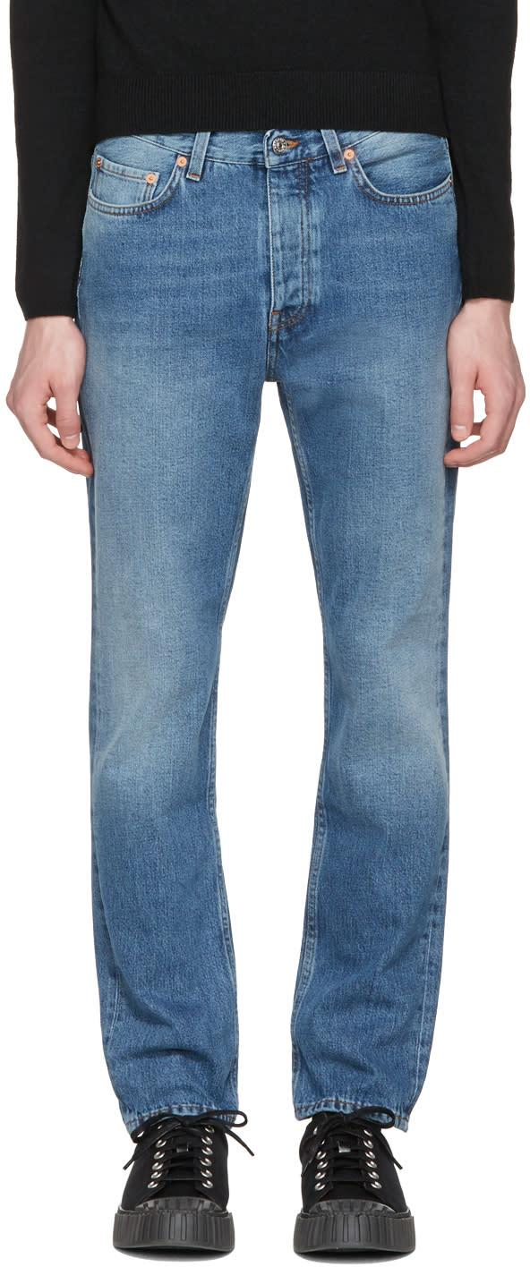 Acne Studios Blue Van Jeans