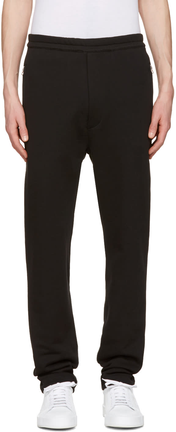 Acne Studios Black Fritz Lounge Pants