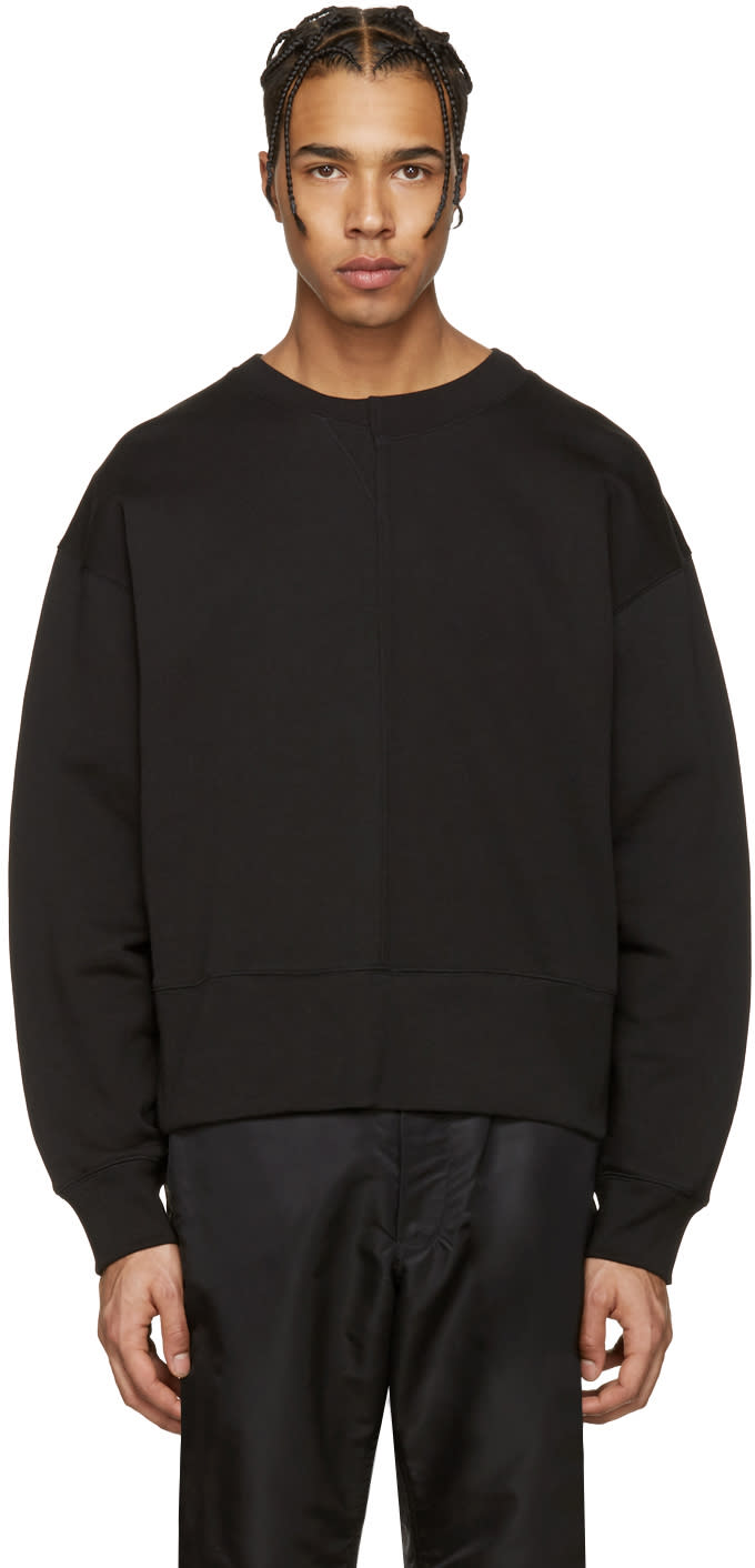 Acne Studios Black File Sweatshirt