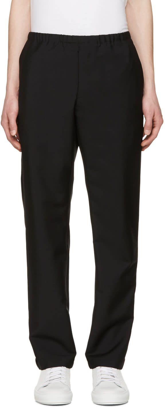 Acne Studios Black Ari Trousers