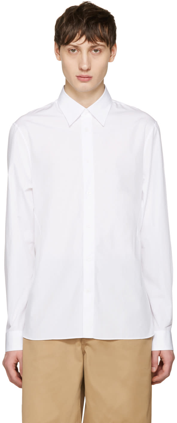 Acne Studios White Glasgow Pop Shirt