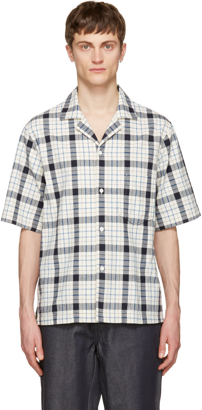Acne Studios Blue Elm Big Check Shirt
