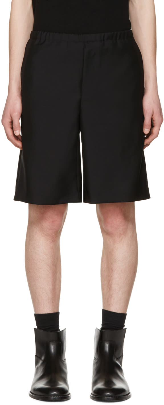 Acne Studios Black Ari Shorts