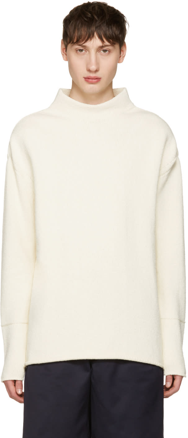 Acne Studios Off-white Karmel Sweater