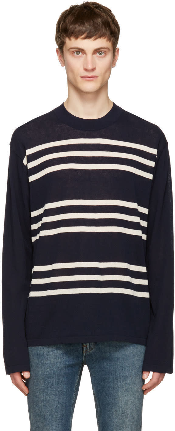 Acne Studios Navy Kusaja Sweater