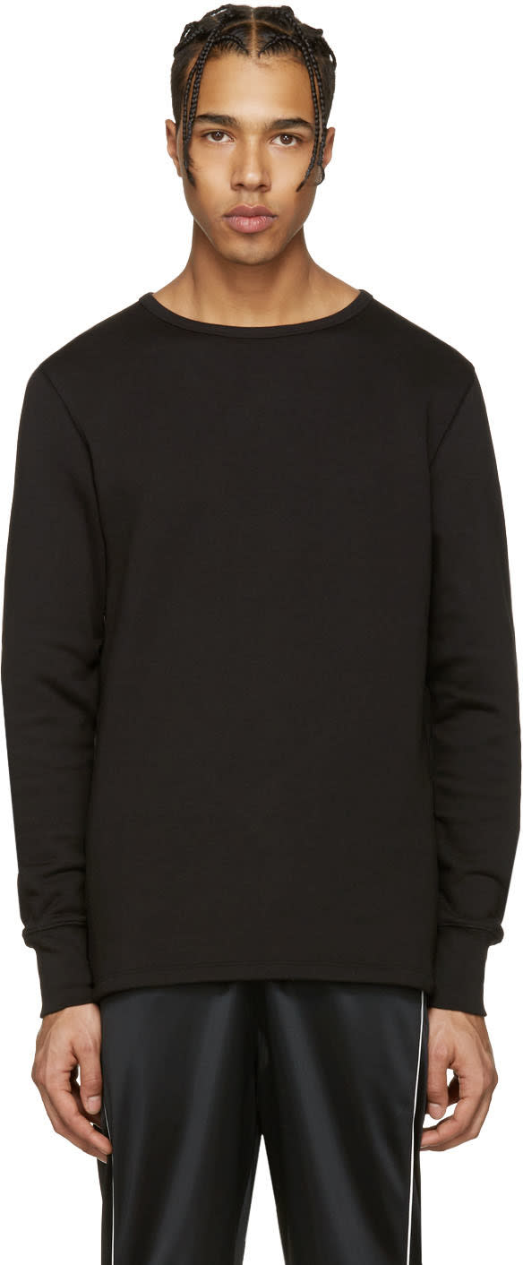 Acne Studios Black Finish Sweatshirt