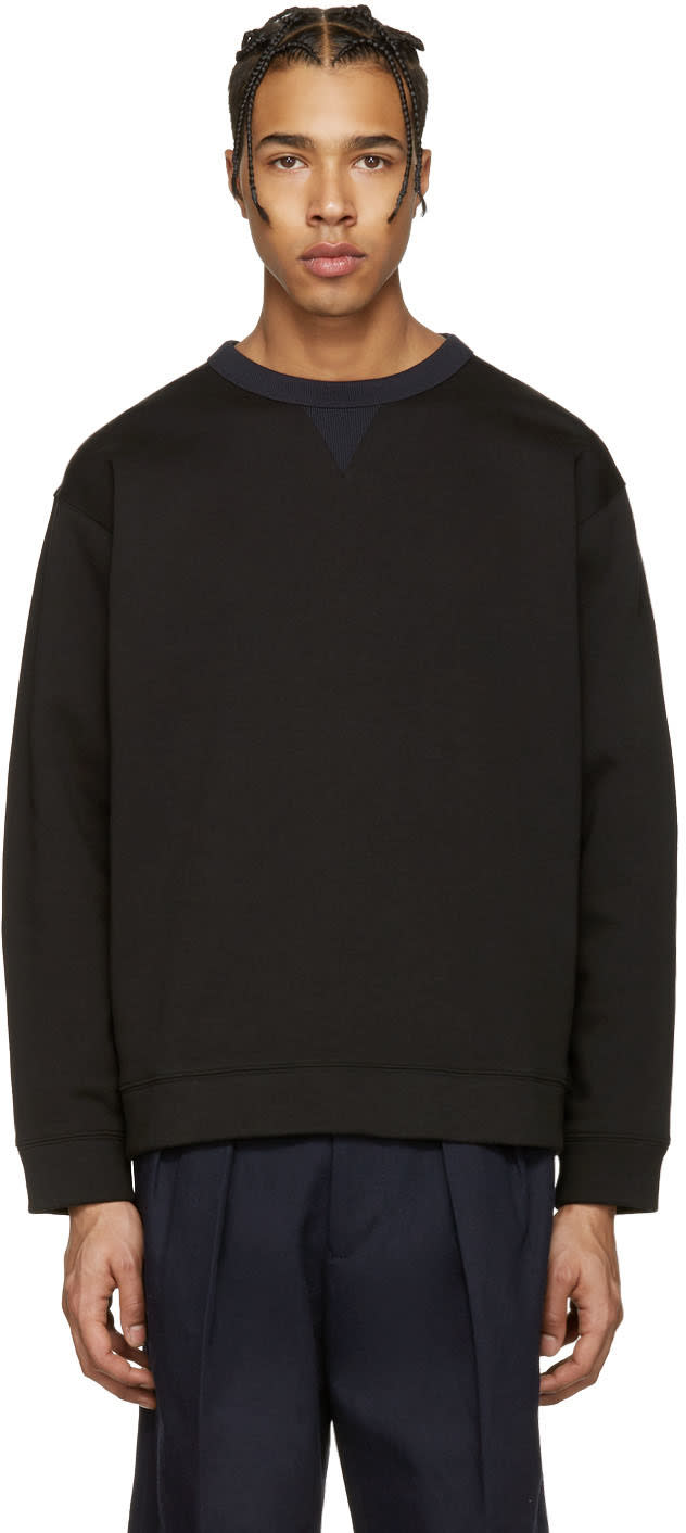 Acne Studios Black Field Sweatshirt