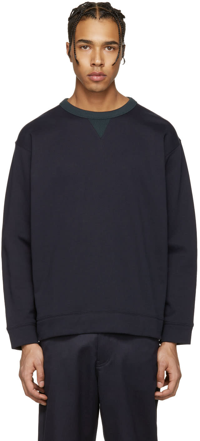 Acne Studios Navy Field Sweatshirt