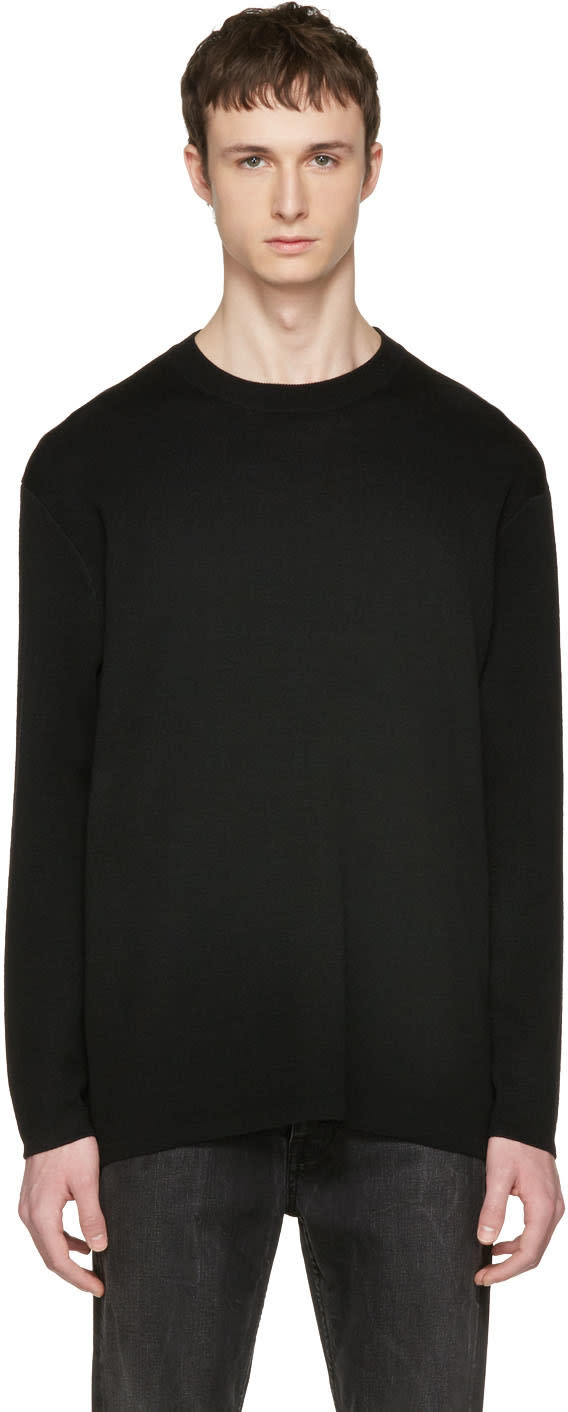 Acne Studios Black Kicha Sweater