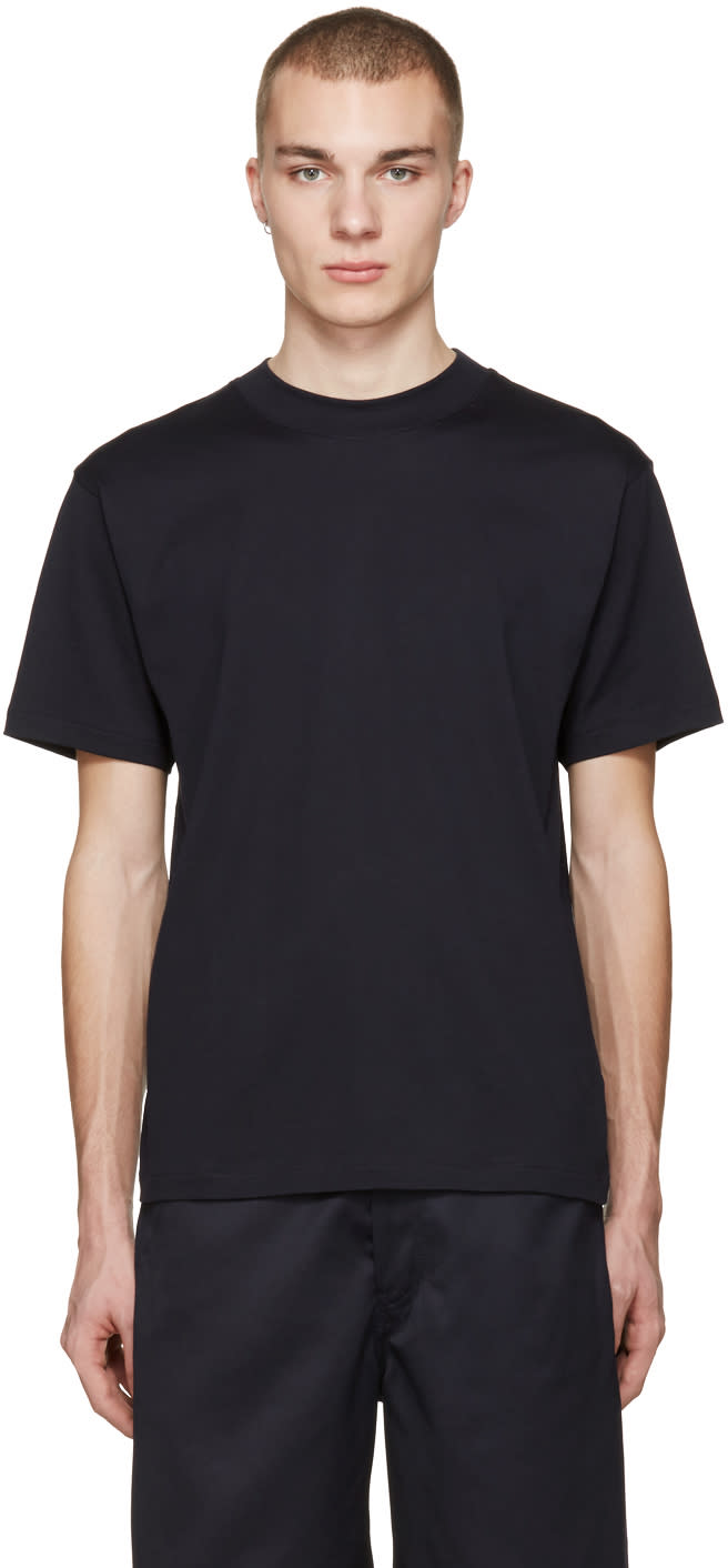 Acne Studios Navy Naples T-shirt