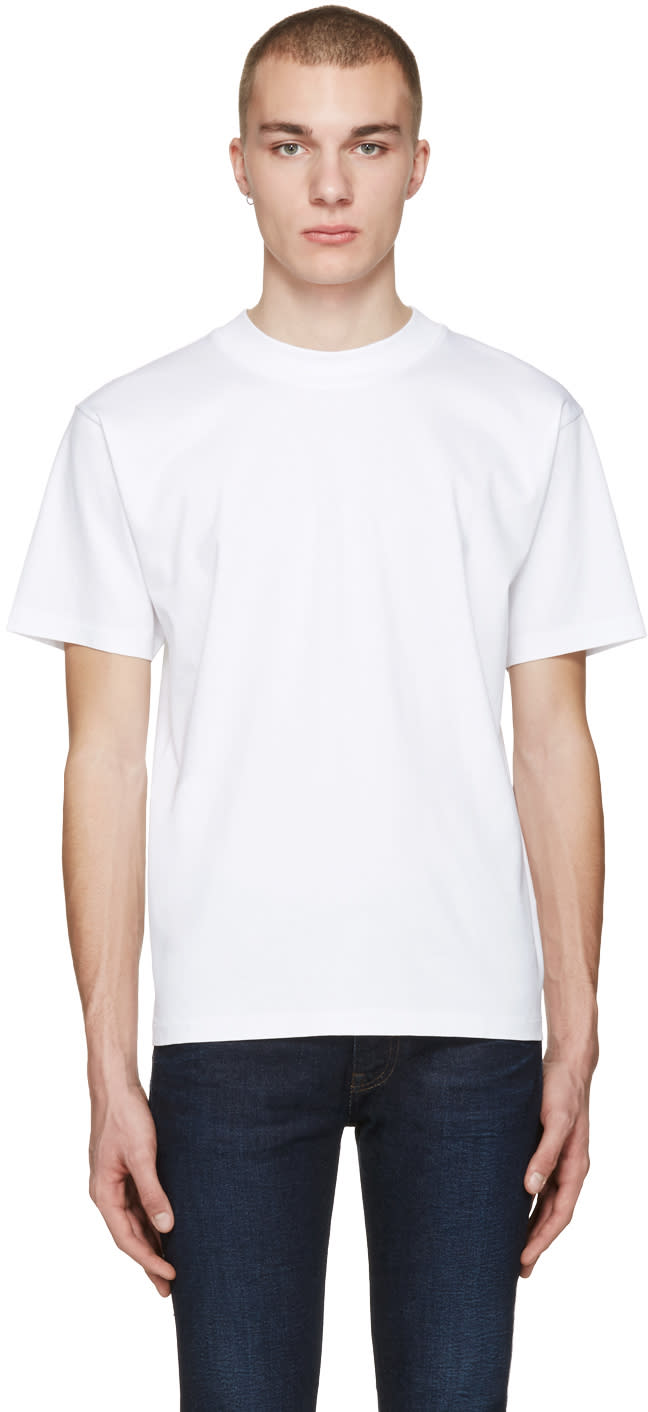 Acne Studios White Naples Lux T-shirt