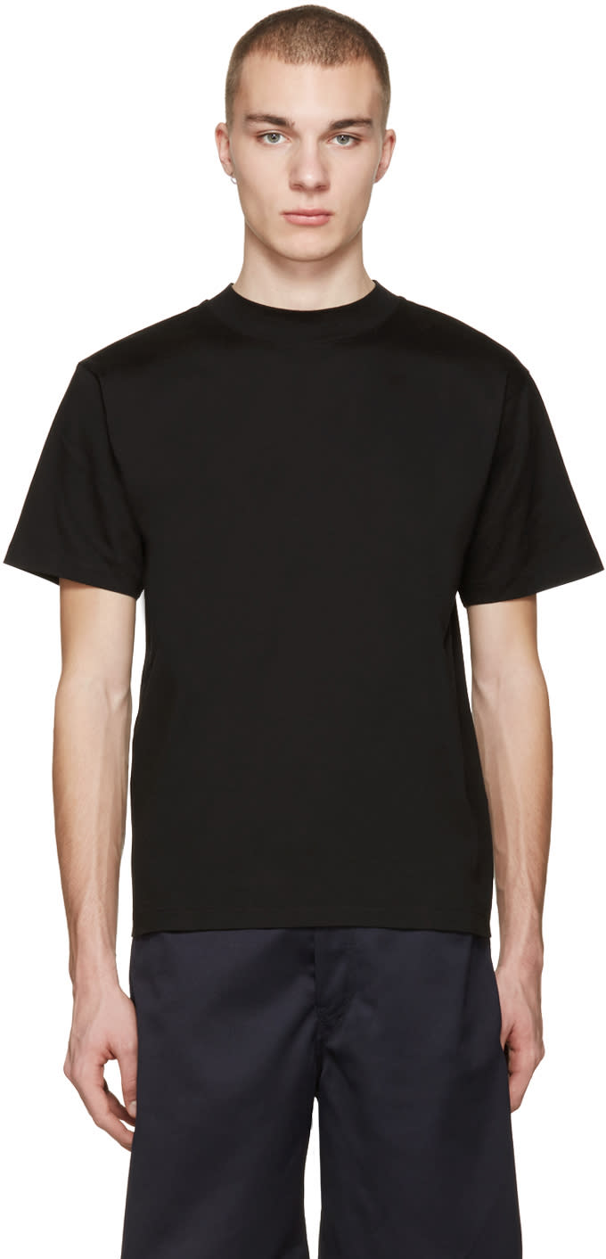 Acne Studios Black Naples Lux T-shirt