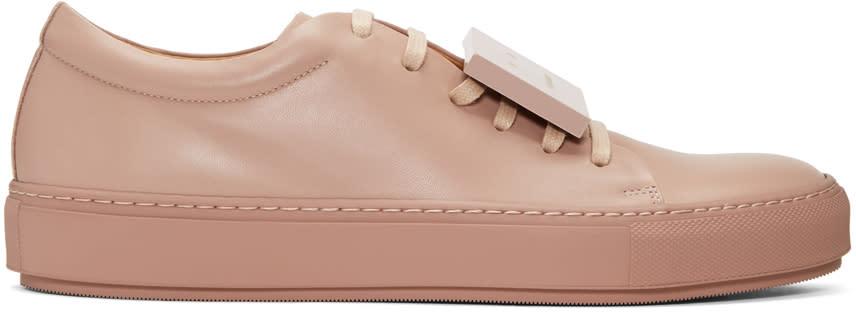 Acne Studios Ssense Exclusive Pink Adrian Sneakers