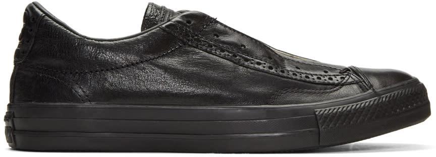 Converse By John Varvatos Black Ctas Slip Brogue Sneakers