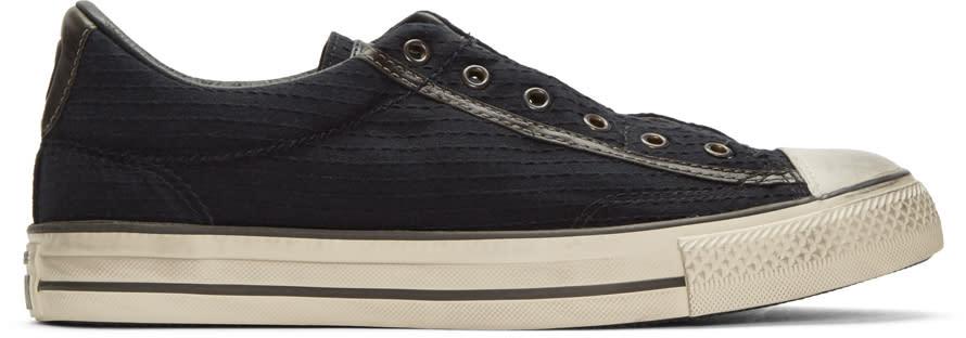 Converse By John Varvatos Black Ctas Vintage Slip Sneakers
