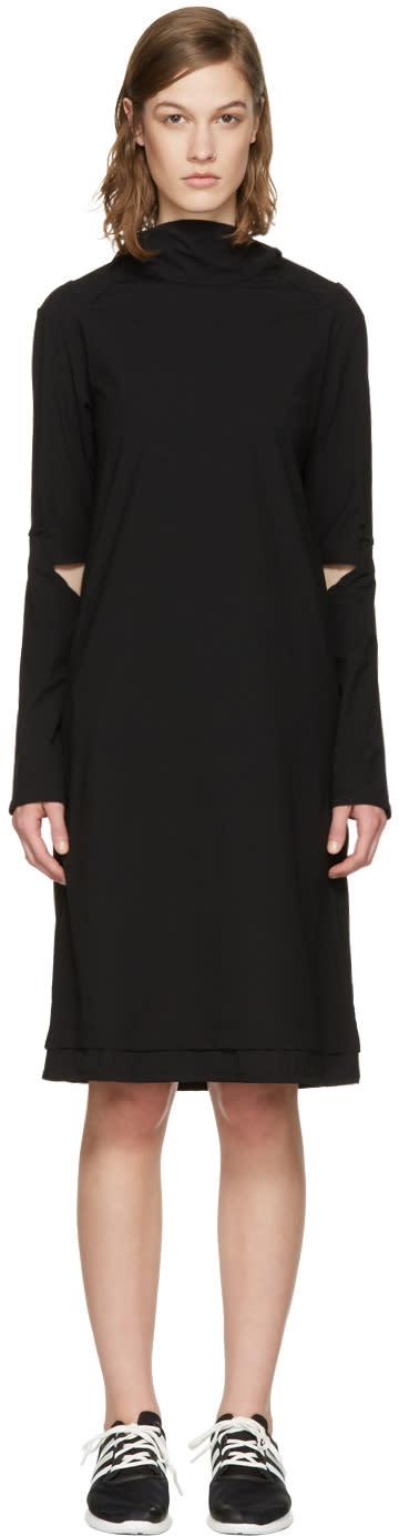 Y-3 Black Hooded Dress