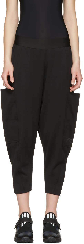 Y-3 Black Cocoon Lounge Pants