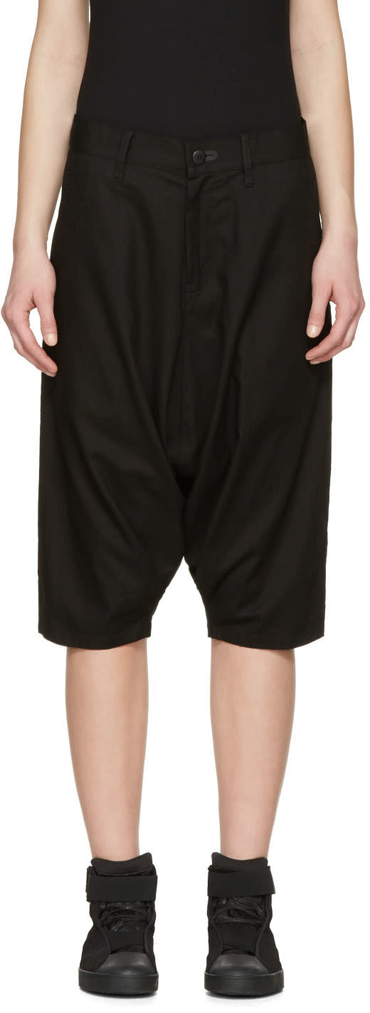 Y-3 Black Worker Shorts