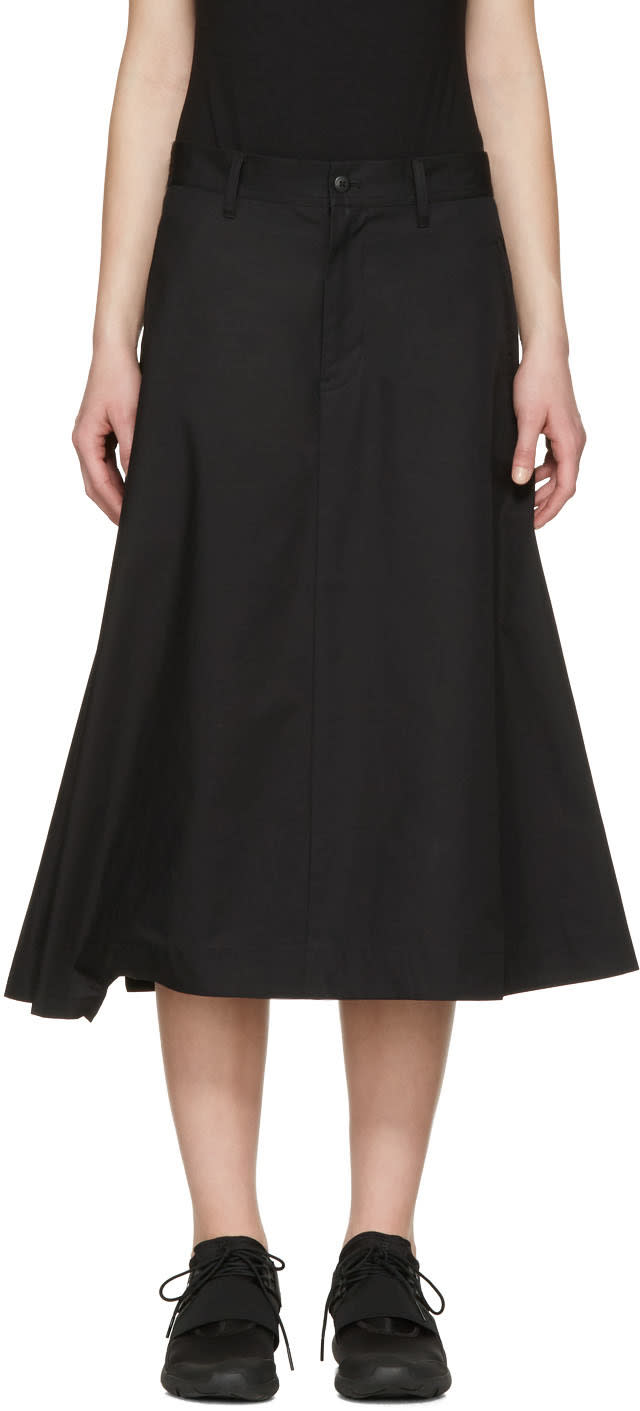 Y-3 Black Technical Skirt