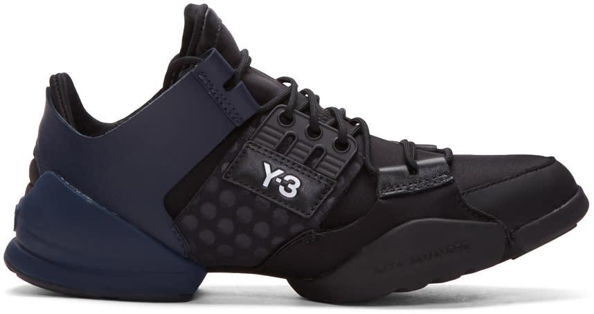 Y-3 Black Kanja Sneakers