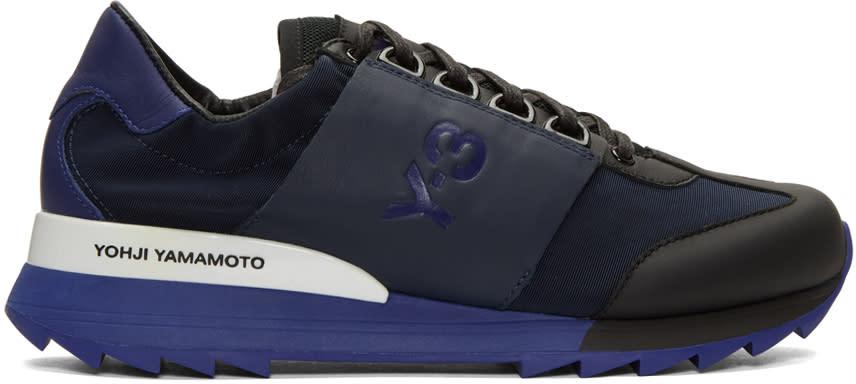 Y-3 Blue Rhita Sport Sneakers