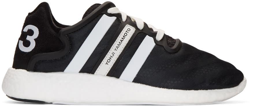 Y-3 Black Yohji Run Boost Sneakers