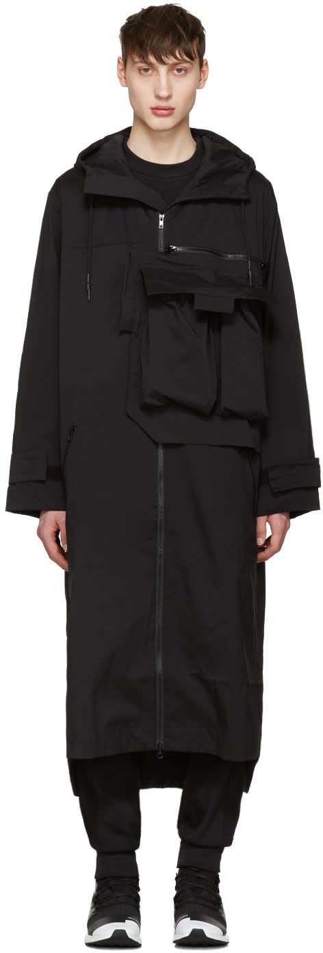 Y-3 Black M Min Nln Coat