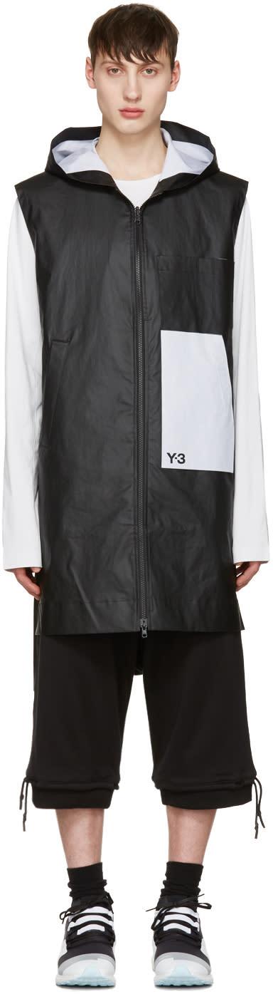 Y-3 Black M Versa Vest