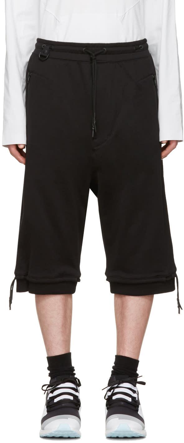 Y-3 Black M Brnd Ft Shorts