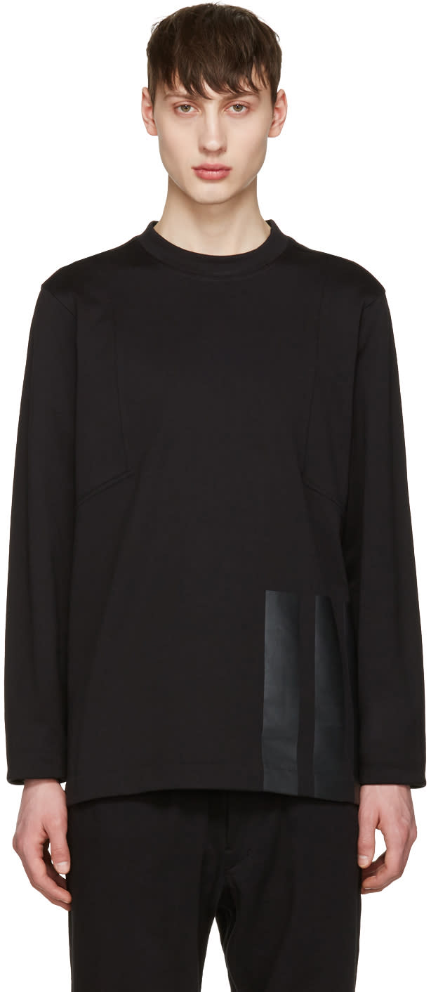 Y-3 Black Soft Pullover