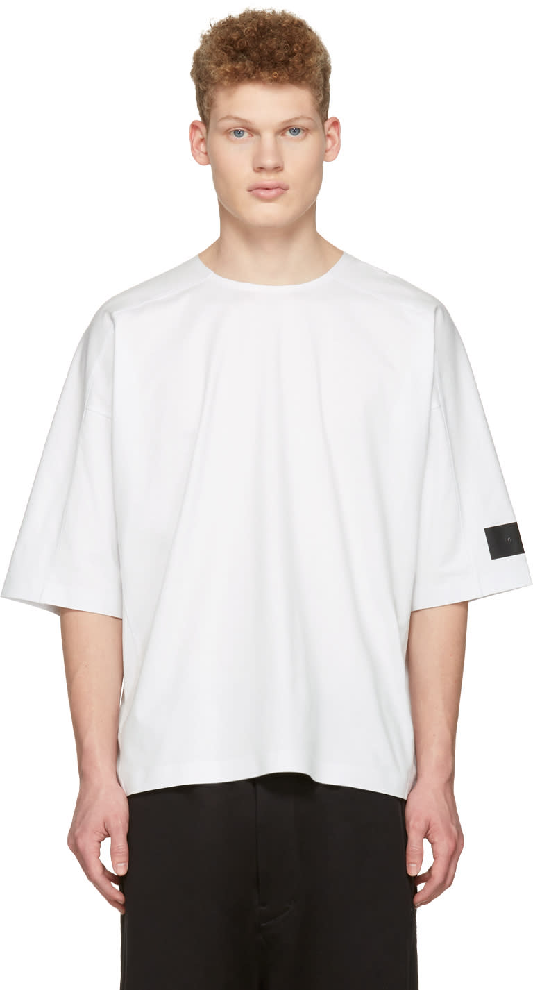 Y-3 White M Skylight T-shirt