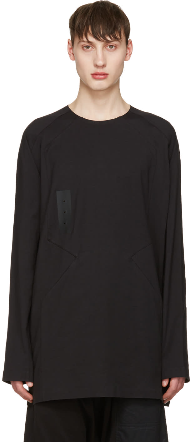 Y-3 Black Skylight Long Sleeve T-shirt