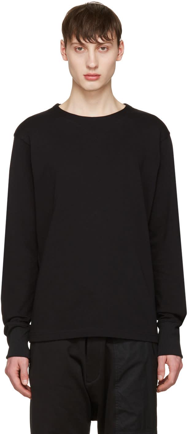 Y-3 Black Future Craft Long Sleeve T-shirt