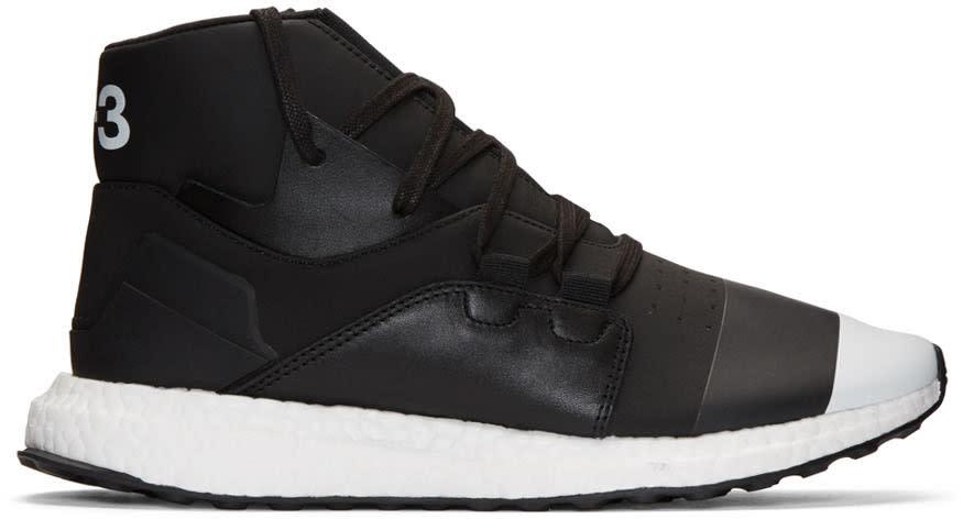 Y-3 Black Kozoko High-top Sneakers
