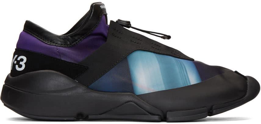 Y-3 Purple Future Sneakers