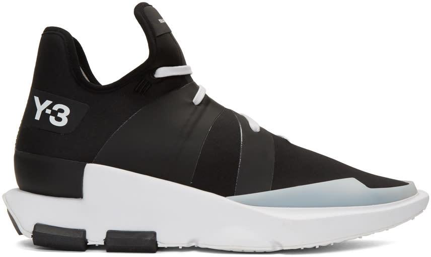 Y-3 Black Noci Low Sneakers