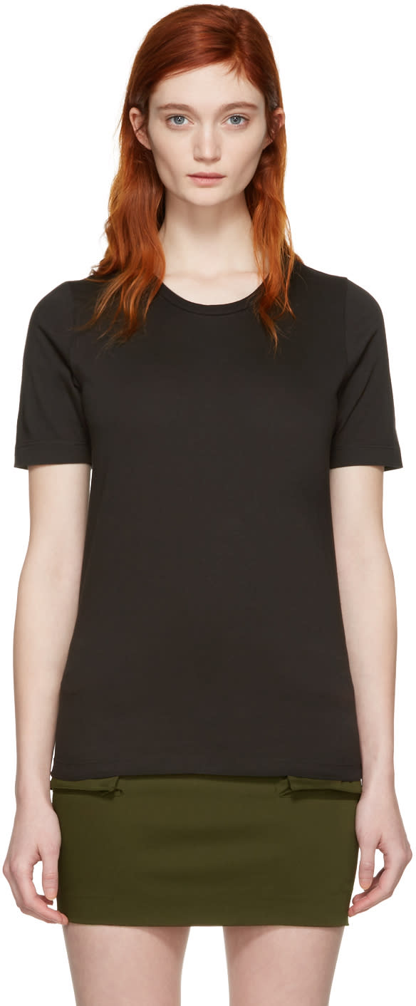 Dsquared2 Black Round Neck T-shirt