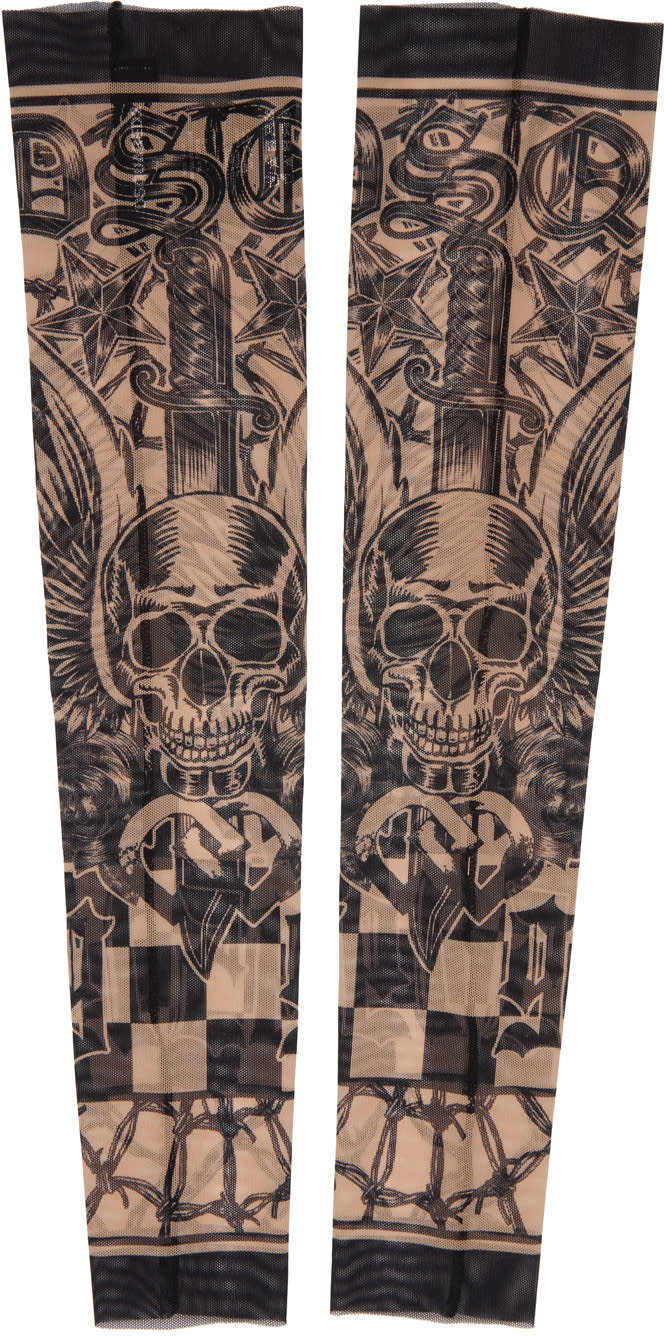 Dsquared2 Black Tattoo Sleeves