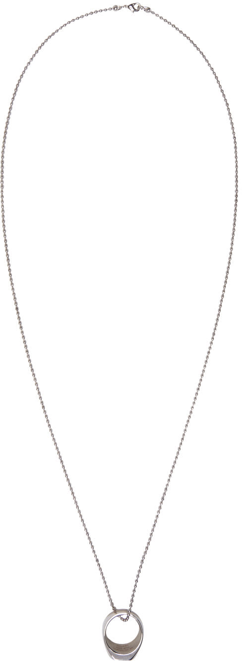 Dsquared2 Silver Ring Necklace
