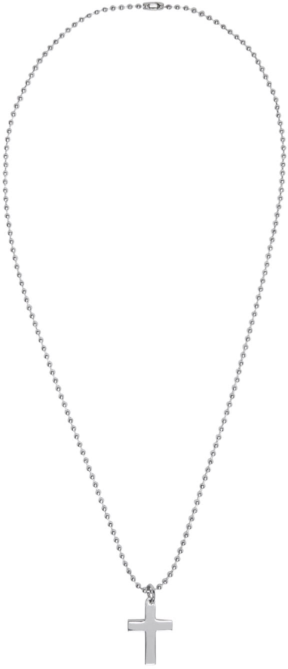 Dsquared2 Silver Cross Necklace