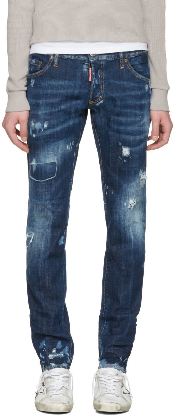Dsquared2 Blue Clement Everything Jeans
