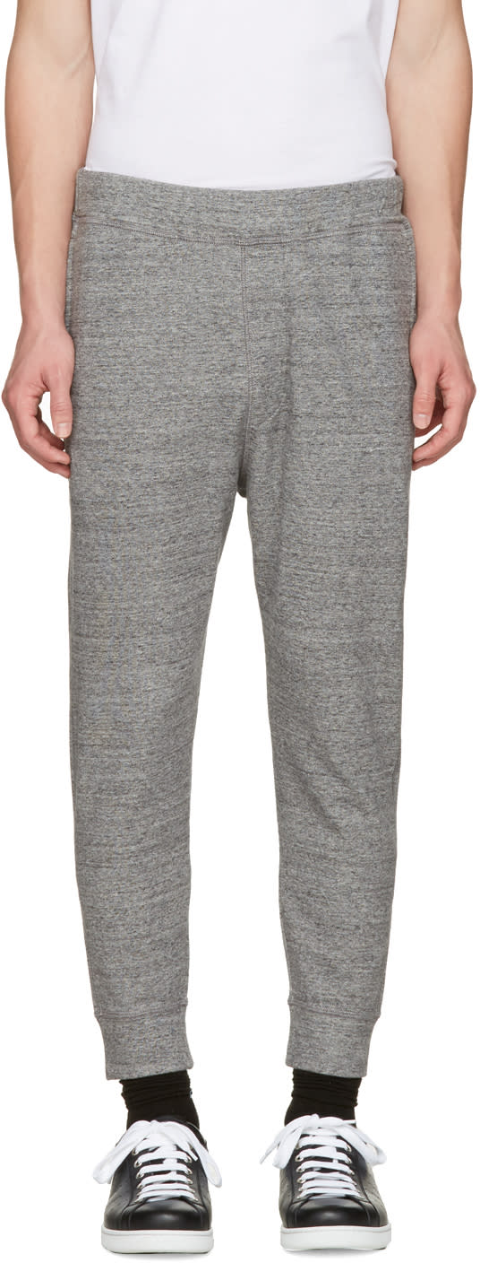 Dsquared2 Grey French Terry Lounge Pants