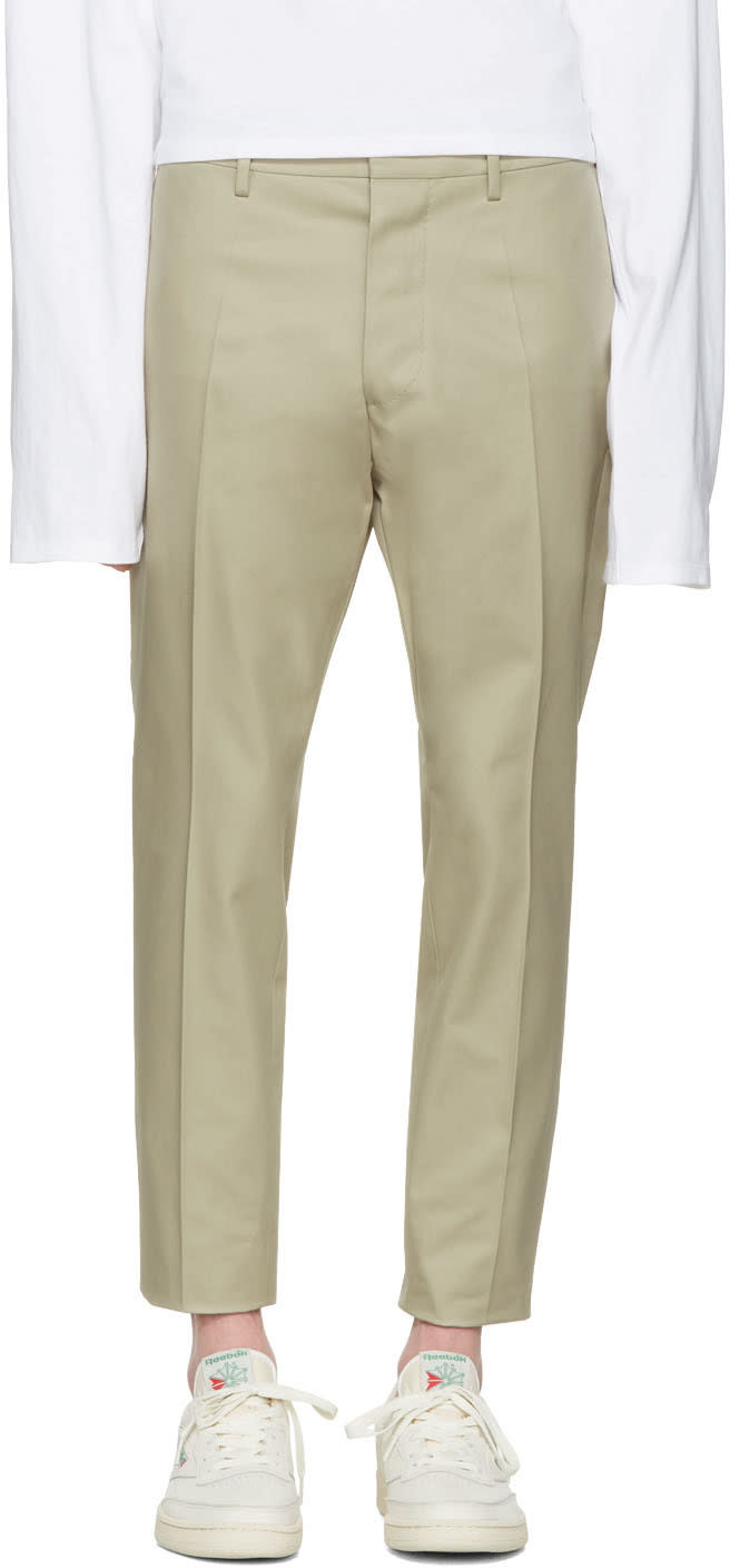 Dsquared2 Beige Hockney Trousers