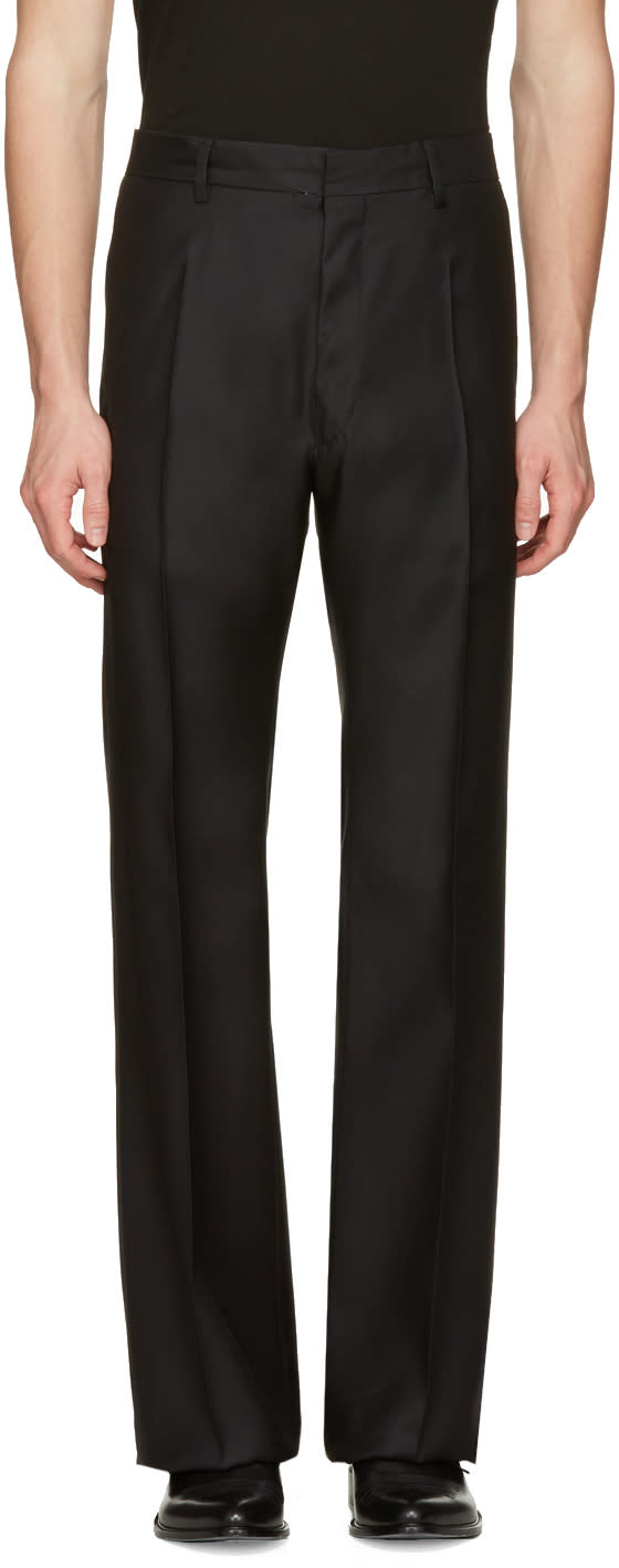 Dsquared2 Black Wide-leg Trousers